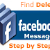 How to Find Deleted Messages On Facebook