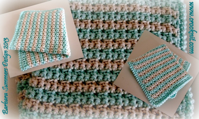 Microcknit Creations Face Cloth Or Wash Cloth How To Crochet