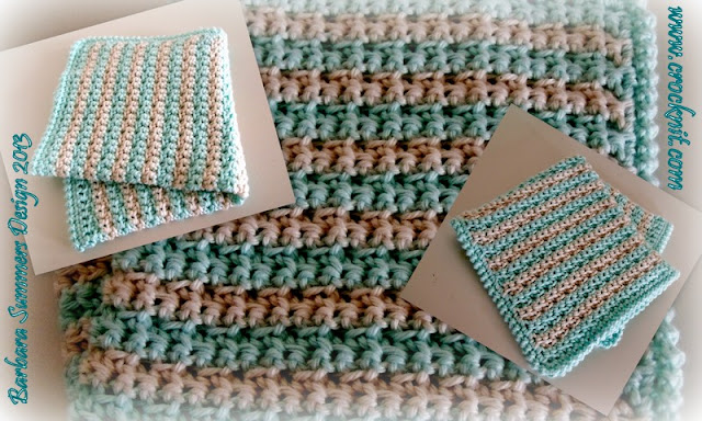 free crochet patterns, face cloth, wash cloth, how to crochet, crab stitch