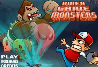Video Game Monster Awesome and Interesting Puzzle Games Online