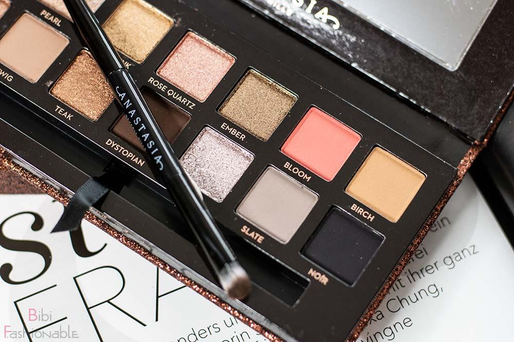 Anastasia Beverly Hills Sultry Eyeshadow Palette Farben rechts