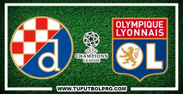 Ver Dimano Zagreb vs Lyon EN VIVO Por Internet Hoy 22 de Noviembre 2016