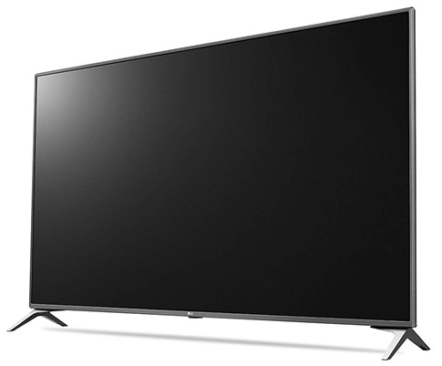 LG 55UJ651V: flamante diseño y panel 4K