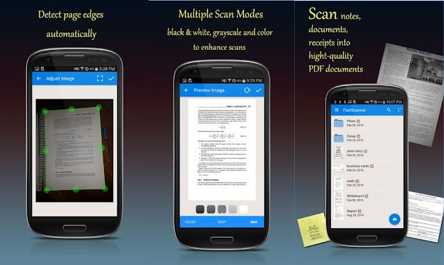 تطبيق Fast Scanner
