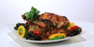 دجاج بورق العنب