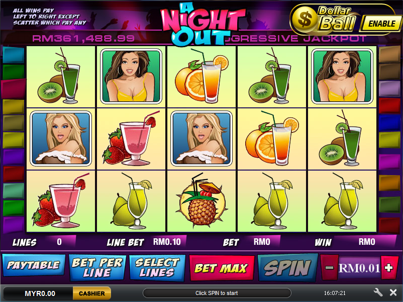Slot online minimum rm10