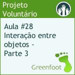 GreenFootBR - Vídeo #28 - Interação entre objetos - Terceiro Contato