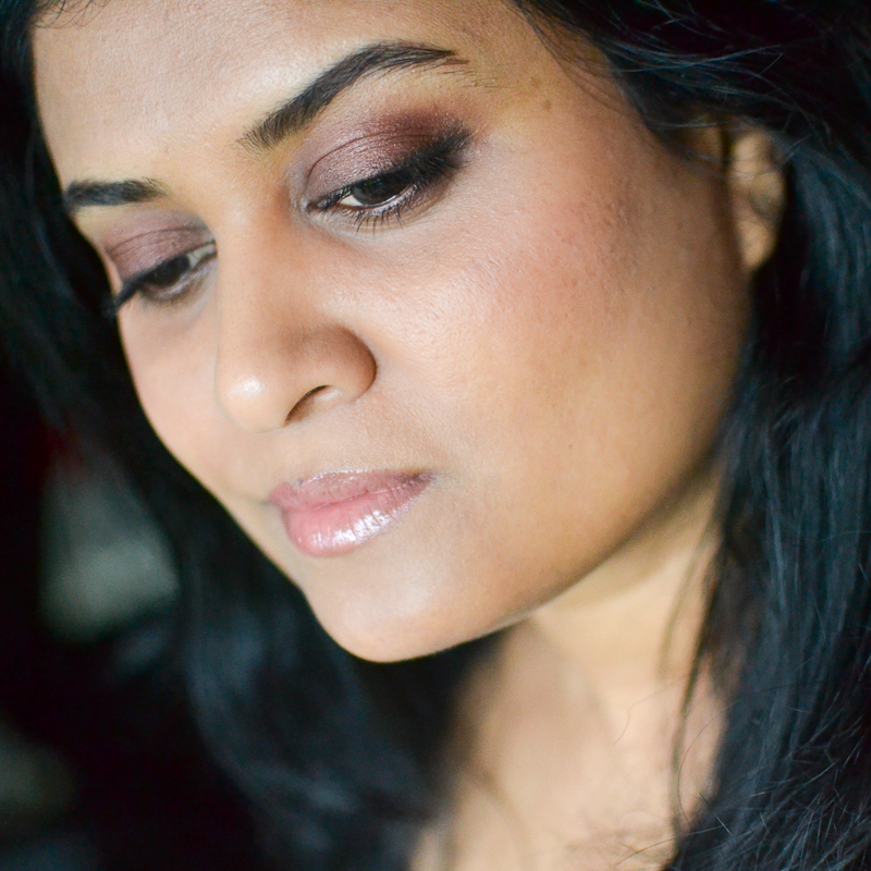 Fall Winter Makeup with Berry Neutrals - NARS Grenadines, Coconut Grove