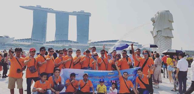 Tour Singapura Malaysia bersama CV. Multi Payment Nusantara Group