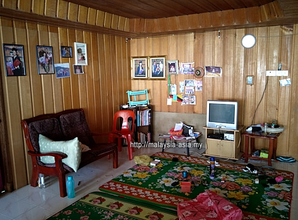 Common Area Lun Bawang Longhouse
