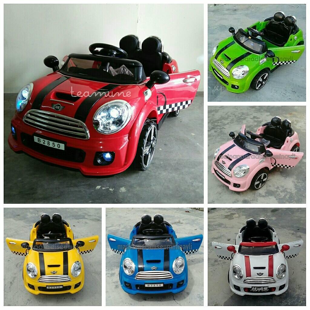 Ummi Nayli Collections Kereta Mainan Elektrik Kanak Kanak Dengan Remote Control