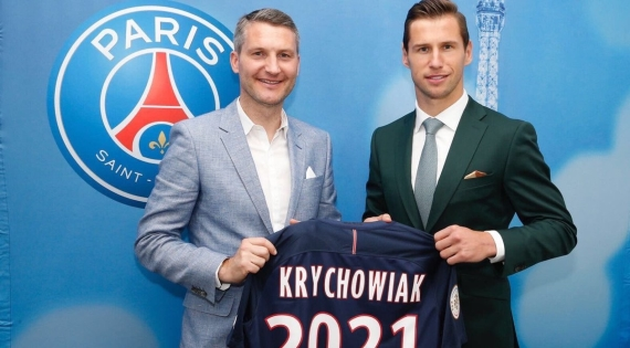 PSG have completed the signing of Poland international Grzegorz Krychowiak.