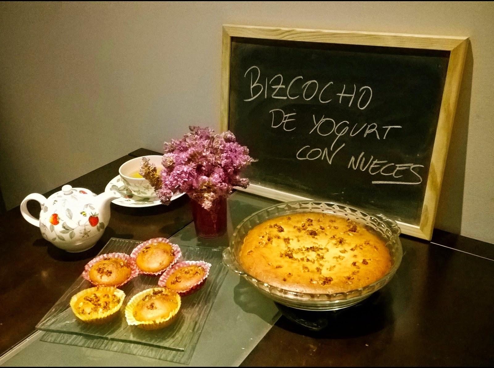 Cocina 3 generaciones bizcocho de yogourt con nueces for Cocina con sergio bizcocho
