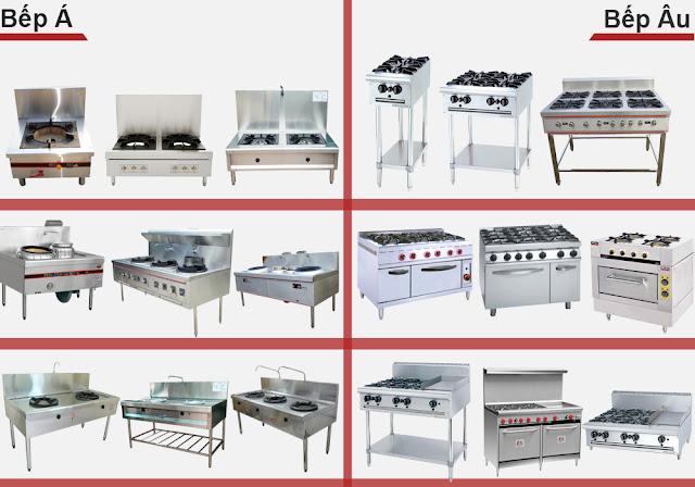 Các thiết bị bếp công nghiệp được sử dụng nhiều nhất 2018
