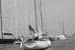 Voilier port Saint-Tropez