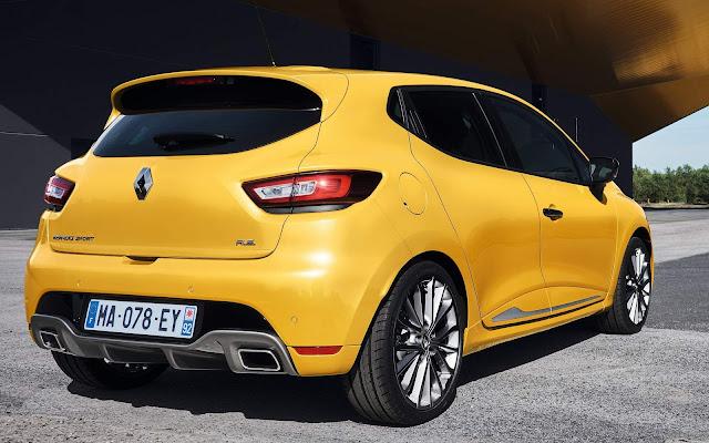 Novo Renault Clio RS 2017
