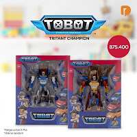 Dusdusan Tobot Tritant Champion (Set of 6) ANDHIMIND
