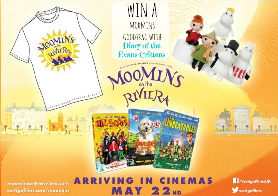 , Moomins on the Riviera Free Activity Sheets and a Goody Bag Giveaway