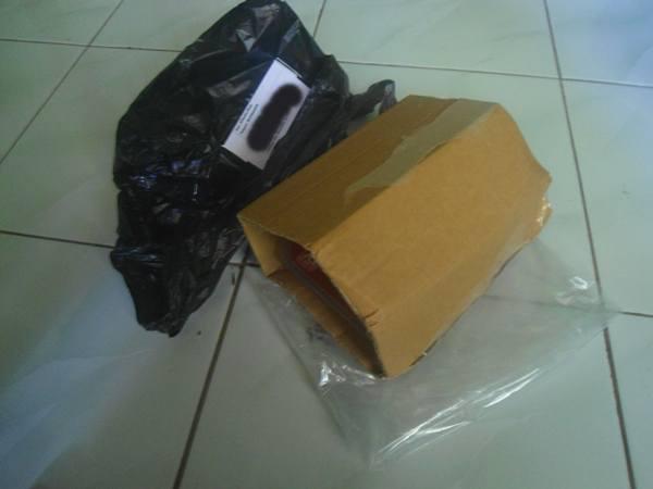 cara kemas paket