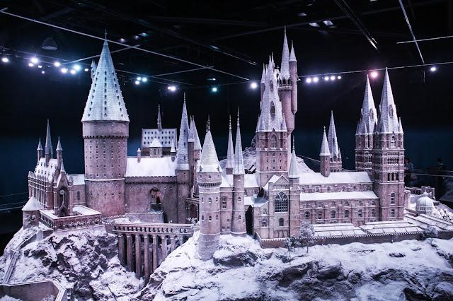 Maquette Poudlard Studios Harry Potter