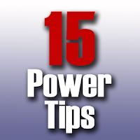 15 power tips, 15 job search power tips, job seeking power tips, job seeking tips,