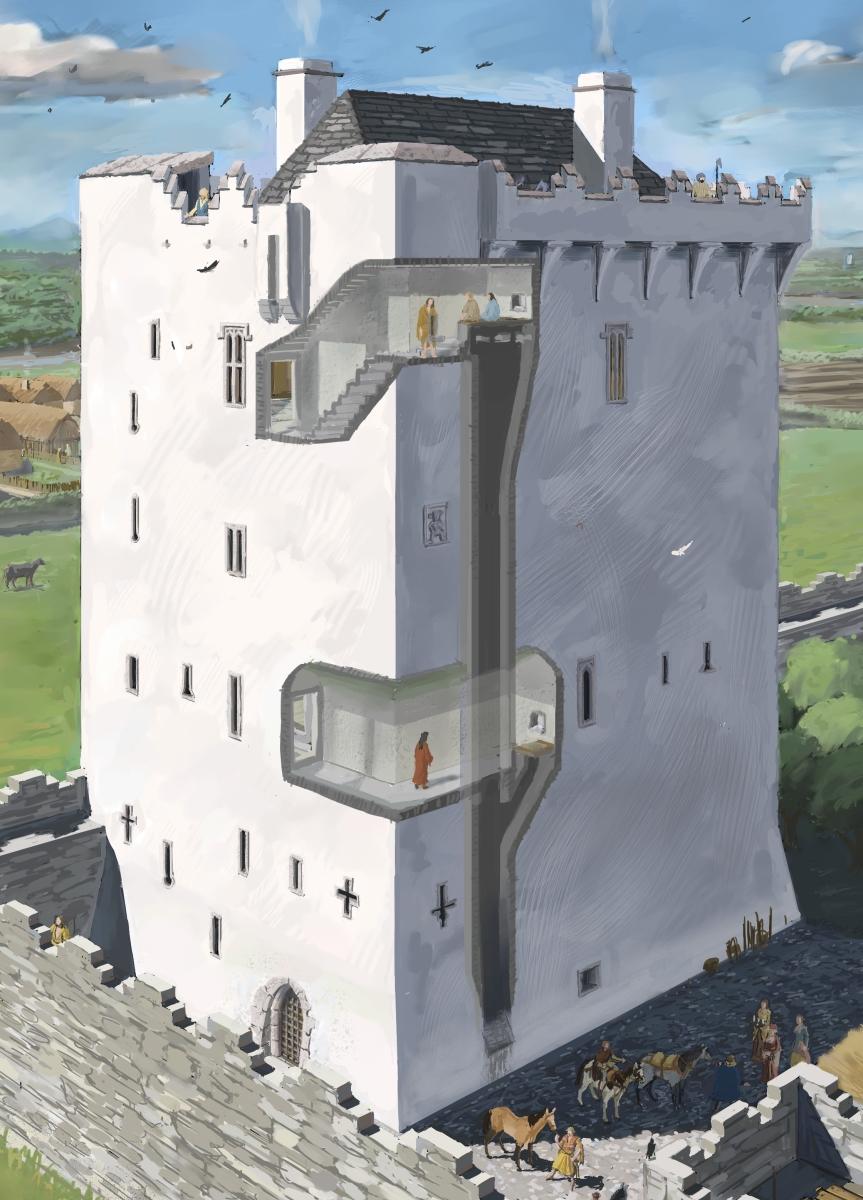 L N Ocht Blog Blog Of J G O 39 Donoghue Inside A Tower