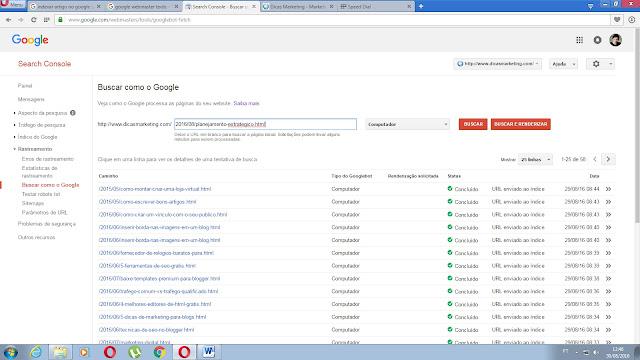 Indexar artigos ou opaginas no google - Dicas Marketing - Marketing Digital