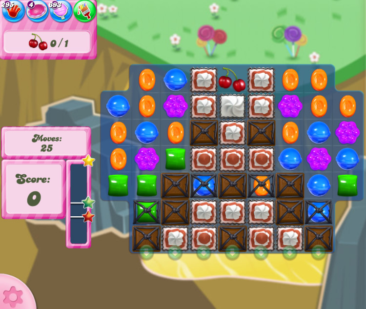 Candy Crush Saga level 2847
