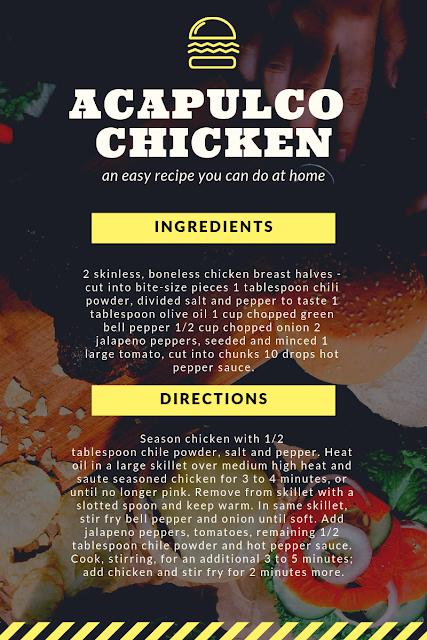 Acapulco Chicken Recipe