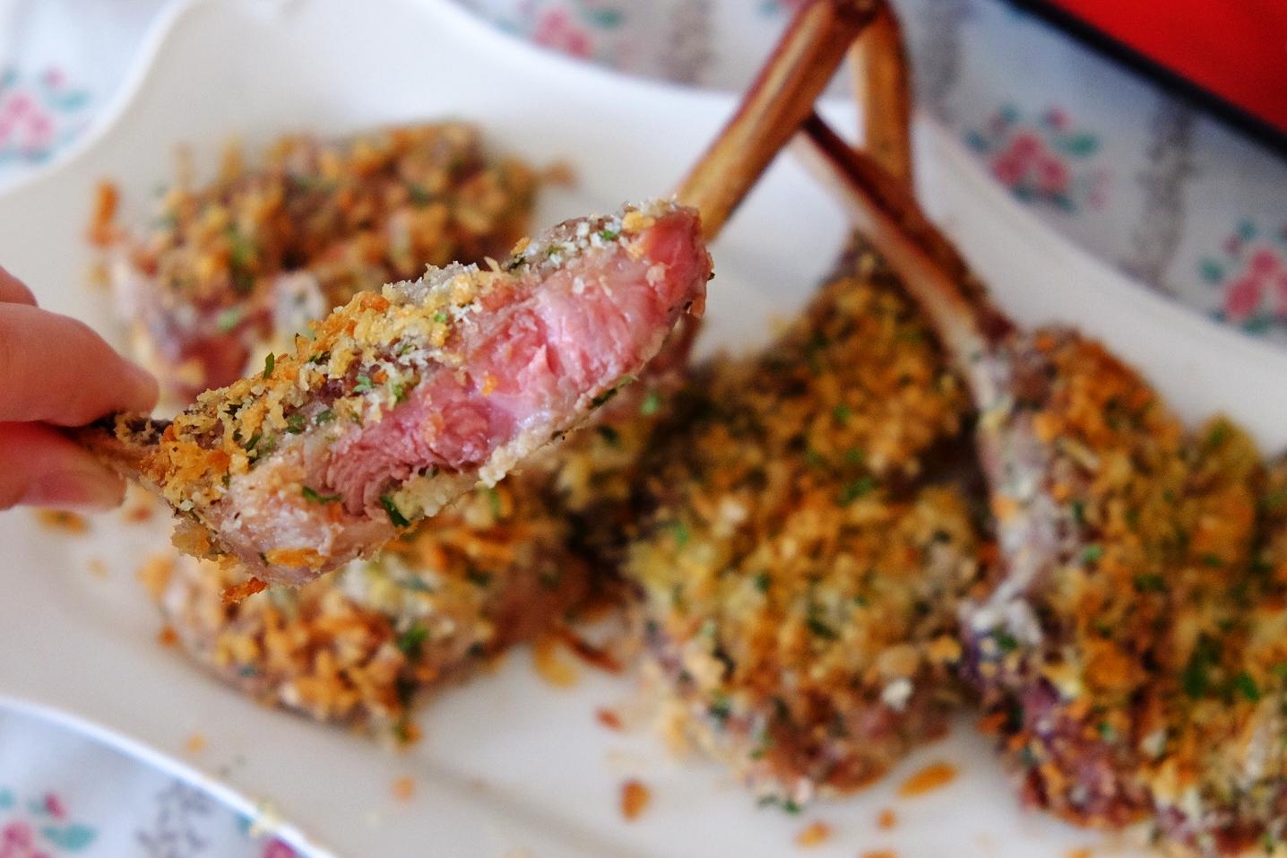 Missta's Kitchen: Recolte Avance小焗爐食譜~法式寶雲酥羊架 Provencal Lam Chop