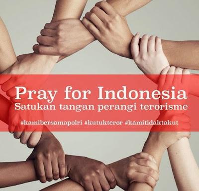 Pray For Surabaya, Perangi Terrorisme Di Negri Indonesia Kita - Puisi