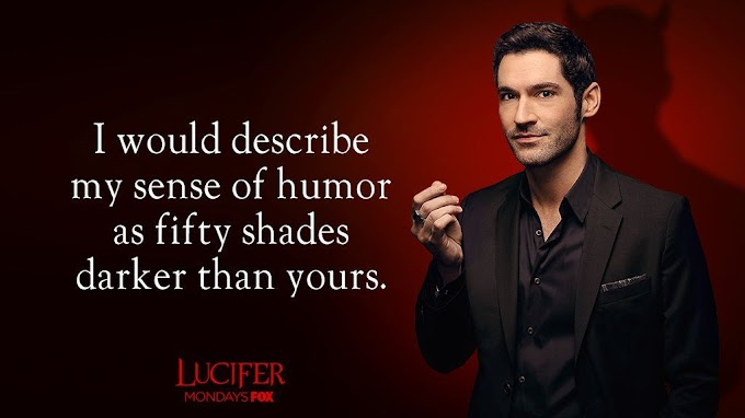 Best Lucifer TV show inspiring image quotes: Lucifer Morningstar, Amenadiel and others