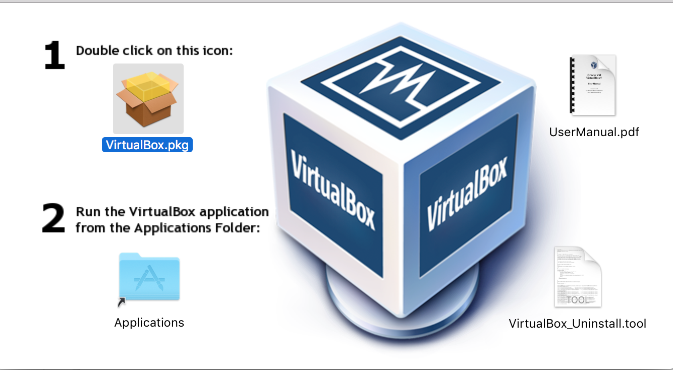 install virtual box in mac