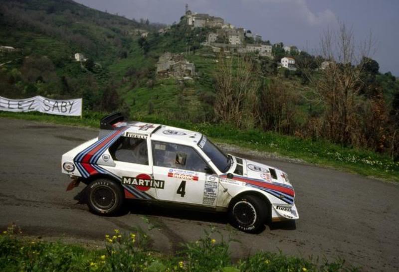mondiali rally tour de corse 1986 lancia delta s4. Black Bedroom Furniture Sets. Home Design Ideas