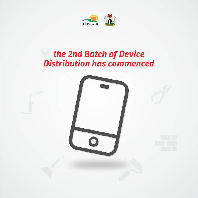 DEVICE UPDATE FOR BATCH B NPOWER VOLUNTEERS