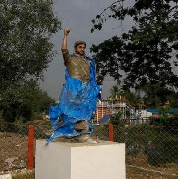 Pawan Kalyan Statue At West Godavari District
