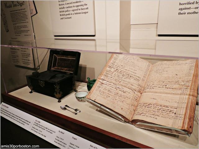 Museo Concord: Té
