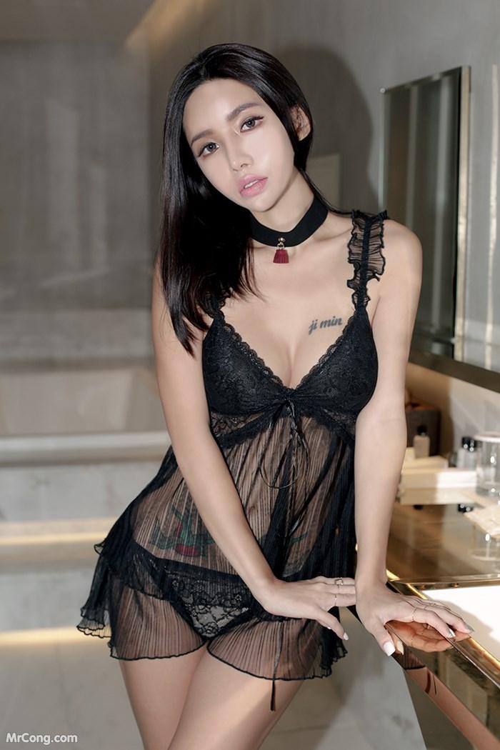 Image Korean-Model-Hwang-Barbie-MrCong.com-018 in post Người đẹp Hwang Barbie trong bộ ảnh nội y, bikini tháng 10/2017 (238 ảnh)