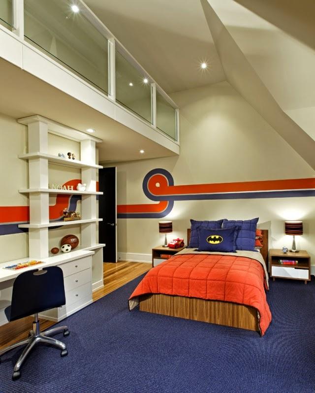 dormitorio para niño divertido