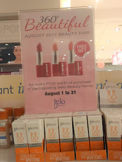 Robinsons Beauty Fair Maj Valencia