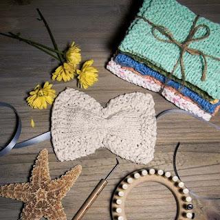 Free Loom Knit Eye Mask Pattern