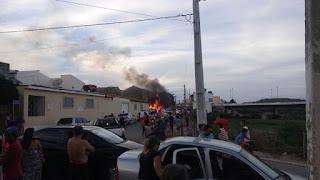 Incêndio em borracharia no centro de Picuí assusta moradores