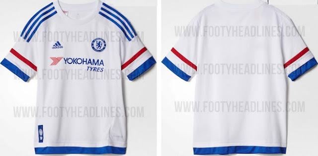 Chelsea 2015-16 away jersey