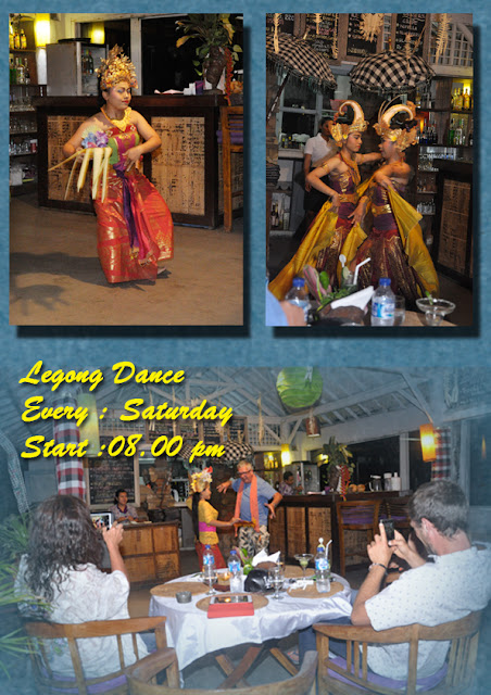 special Dinner with Balinese dance