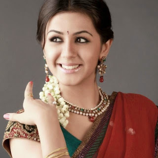 Nikki Galrani actress saree photos