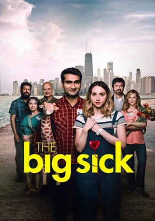 The Big Sick 2017 WEB-DL 350MB English Movie 480p Watch Online Full Movie Download bolly4u