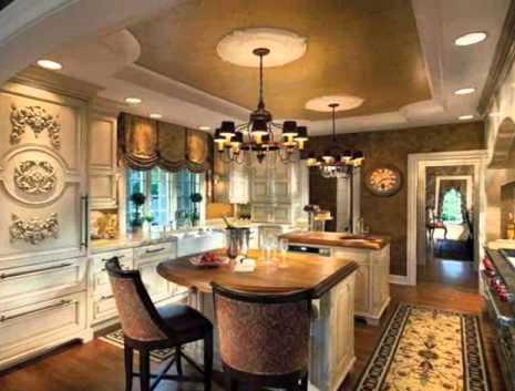 Beberapa Desain Dapur Termewah Di Dunia