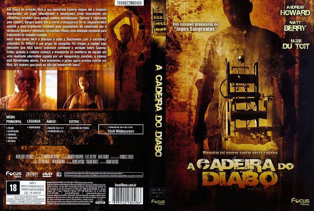 Capa DVD A Cadeira do Diabo