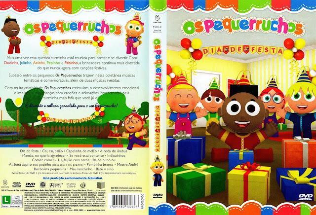 Capa DVD Os Pequerruchos Dia De Festa