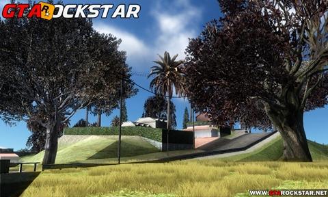 Behind Space Of Realities 2017 (Vegetação Real) para GTA San Andreas Vegetação realista para GTA SA Mod arvores em HD Behind Space Of Realities 2017 para GTA SA